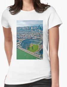 SF Giants Stadium  Womens Fitted T-Shirt