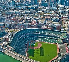 SF Giants Stadium  by David  Perea