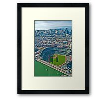 SF Giants Stadium  Framed Print