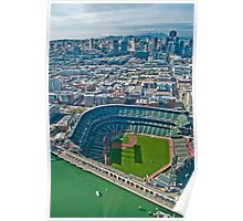 SF Giants Stadium  Poster