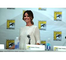 Shelley Hennig - Comic Con Photographic Print