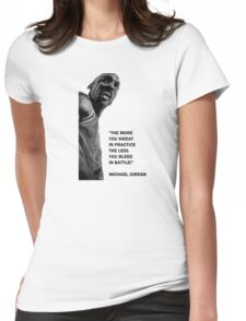 Michael Jordan - quote Womens Fitted T-Shirt