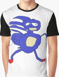 MLG Sanic Meme Graphic T-Shirt