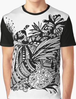 Vegetables Aussie Tangle Graphic T-Shirt