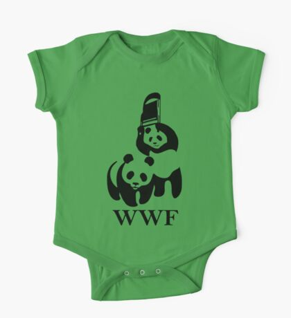 WWF parody One Piece - Short Sleeve