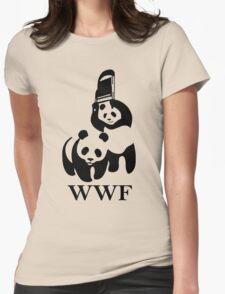WWF parody Womens Fitted T-Shirt