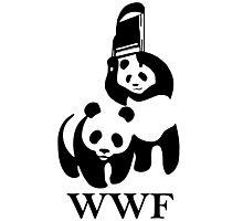 WWF parody Photographic Print