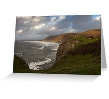 Rhossili Bay Greeting Card