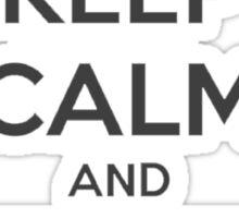 Keep calm and IE Sticker