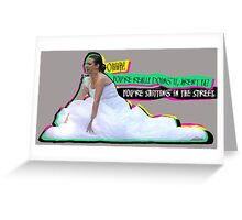 Bridesmaids - Ohh! You're doing it, aren't you? Greeting Card
