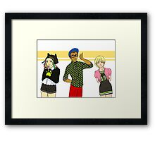Miraculous Fashions 4 Framed Print