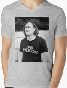 "Brian Sella (The Front Bottoms) ""Dab Religion"" Mens V-Neck T-Shirt"