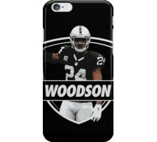 Charles Woodson - Oakland Raiders iPhone Case/Skin