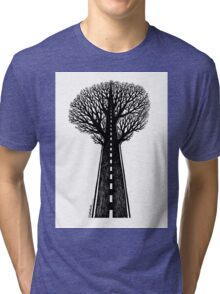 Road and tree Tri-blend T-Shirt