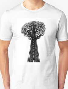 Road and tree Unisex T-Shirt