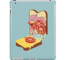 The accident iPad Case/Skin