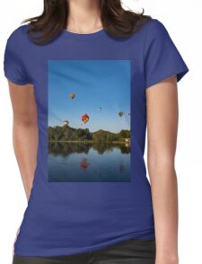 Hot Air Balloon Rides Womens Fitted T-Shirt