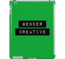 Labeled: Gender Creative iPad Case/Skin