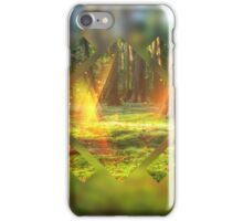 Take Me to the Magic Forest Abstract Geometric iPhone Case/Skin