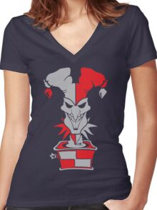 League of Legends - Shaco Women's Fitted V-Neck T-Shirt
