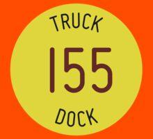Truck Dock 155 Kids Tee