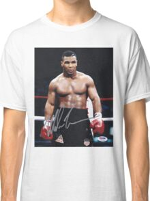 Mike Tyson on the ring Classic T-Shirt