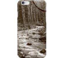 white water iPhone Case/Skin