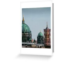 Berlin - View from the Parliament Greeting Card