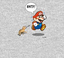 Mario chased by aggressive chihuahua! Unisex T-Shirt