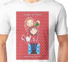 Happy holidays, awesome nerd Unisex T-Shirt