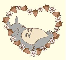 Sleeping Totoro Photographic Print
