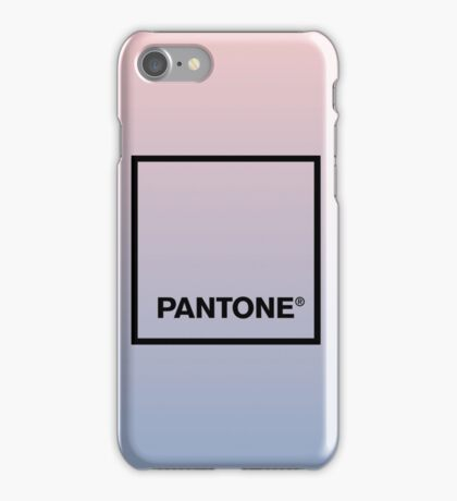 PANTONE'S COLOR OF 2016 iPhone Case/Skin