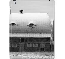 Watchful Eyes BW iPad Case/Skin