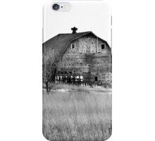 Boylan Creek Barn BW iPhone Case/Skin