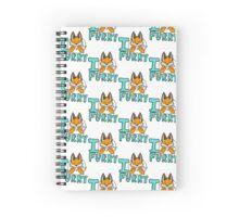 I Furry Spiral Notebook
