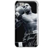 Mike Tyson fight iPhone Case/Skin