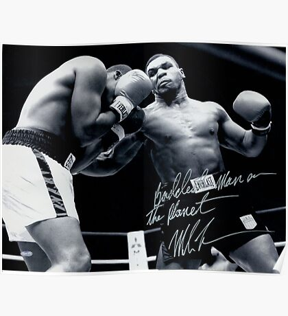 Mike Tyson fight Poster
