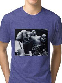 Mike Tyson fight Tri-blend T-Shirt