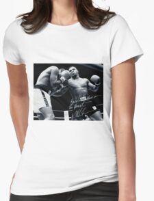 Mike Tyson fight Womens Fitted T-Shirt