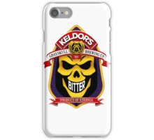 Keldor's Bitter - Grayskull Brewing Company - Skeletor iPhone Case/Skin