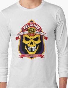 Keldor's Bitter - Grayskull Brewing Company - Skeletor Long Sleeve T-Shirt