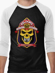 Keldor's Bitter - Grayskull Brewing Company - Skeletor Men's Baseball ¾ T-Shirt