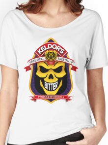 Keldor's Bitter - Grayskull Brewing Company - Skeletor Women's Relaxed Fit T-Shirt