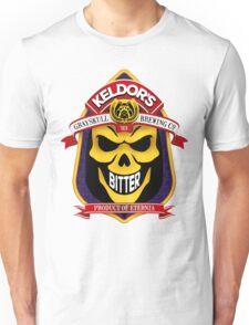 Keldor's Bitter - Grayskull Brewing Company - Skeletor Unisex T-Shirt