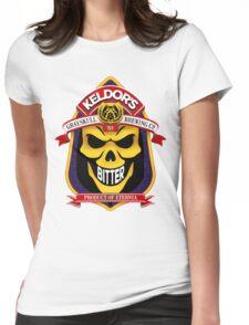 Keldor's Bitter - Grayskull Brewing Company - Skeletor Womens Fitted T-Shirt