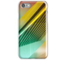 Colorful Modern Building Urban City Abstract Geometric Gradation iPhone Case/Skin