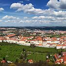 Prague Panorama by Dominika Aniola
