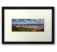 Prague Panorama Framed Print