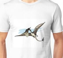 Illustration of a Pteranodon dinosaur. Unisex T-Shirt