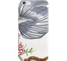 Black Goldfish iPhone Case/Skin